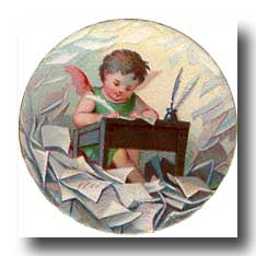 Tiny Angels - 3. She, also, wrote and collected angel stories.